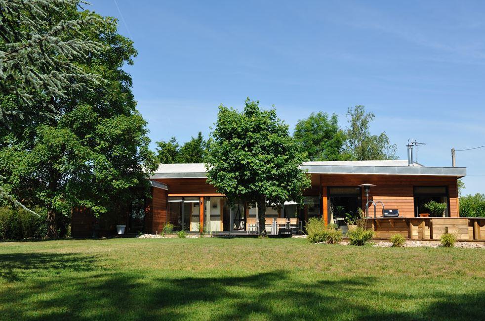 Maison bien tre villa et maisons en bois for Maison etre