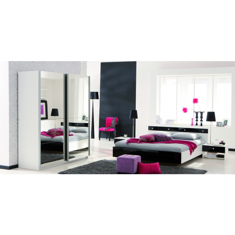 gallery of chambre adulte complete with chambre complte adulte pas cher. Black Bedroom Furniture Sets. Home Design Ideas
