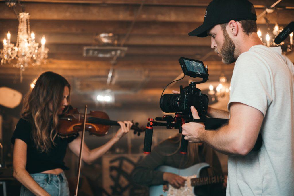 tournage vidéo